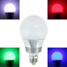 E27 10W 110V 220V RGB IR 24Key LED 16 Colors Changing Light Lamp Bulb Beliebt