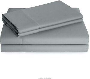 Linenspa 600 Thread Count Ultra Soft, Deep Pocket Cotton Blend Sheet Set - Calif