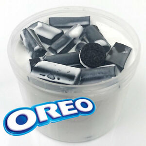 Oreo Milkshake Foam Chunk Slime Scented w/ Charm