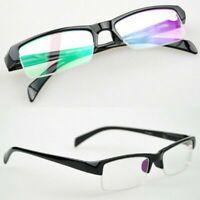 Fashion Flexible Half-frame Myopia Eyeglasses Short Sight Glasses Nearsighted
