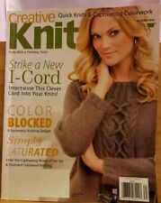 Feb049 Creative Knitting Magazine, Autumn 2016