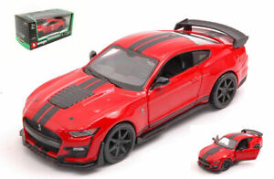 Model Car Scale 1:3 2 Burago MUSTANG Shelby GT500 2020 diecast collection