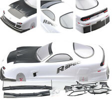For HSP Racing 1/10 RC Car 190MM Body Shell Painted PVC Body Shell+Rear Wing
