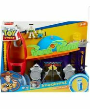 Fisher Price Imaginext Disney Pixar Toy Story Pizza Planet Play Set Alien Buzz