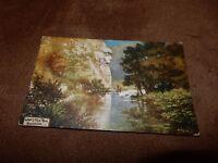 Early Raphael Tuck postcard - Lion's face rock - Dovedale Derbyshire