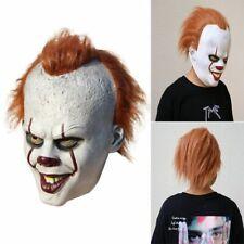 Halloween Máscara Carnaval Cara Completa Película Stephen Rey Pennywise Payaso