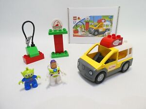 LEGO DUPLO TOY STORY 3 PIZZA PLANET TRUCK #5658 GIFT BOX 100% COMPLETE