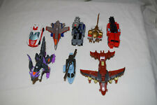Transformers Universe Legends Lot Fireflight Leo Prime Onslaught Starscream Tryp
