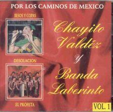 Chayito valdez y Banda Laberinto Por Los Caminos de Mexico 2CD New Nuevo