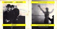 DISCO 45 GIRI    VINCE CLARKE & PAUL QUINN – ONE DAY // SONG FOR