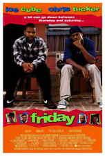Friday (1995) Style-A Bernie Mac Ice Cube Chris Tucker Movie Poster 27x40 NEW