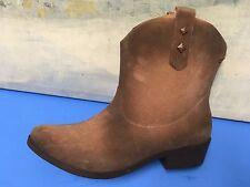 Melissa  Brown Tan Short Ankle  Rain boots Size 40 EUR 9 US