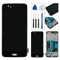 Per Oneplus 5 Five 1+5 A5000 LCD Amoled Display Touch Screen Digitizer Telaio