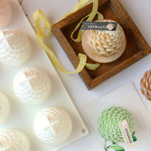 3D Pine Cone Silicone Mold Wax Clay Soap Candle Making Mould DIY Accessories