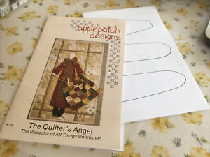 Applepatch Designs The Quilters Angel Sewing Pattern & Instructions #109