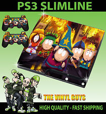 PLAYSTATION PS3 SLIM Adesivo SOUTH PARK BASTONE DELLA VERITÀ Pelle & SKIN PER PAD