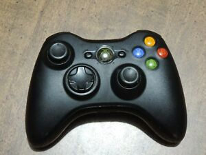 Microsoft Xbox 360 Wireless Controller Black Tested, Used, very good condition