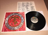 Queensryche Rage For Order LP 1986 First Press with BLUE RING VG+/VG+ ST-17197