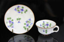 Minton Date-Lined Ceramic Cups & Saucers