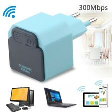 EU 300Mbps WiFi Repeater Wireless Network Signal Range Extender Amplifier