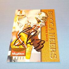 Errict Rhett Signed Autographed 1995 Skybox Card Tampa Bay Buccaneers