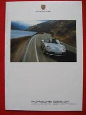 2 Porsche Design Driver's Selection 19 Page Brochure. Edition 10/04.