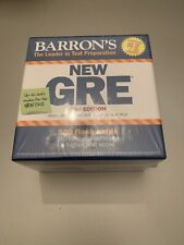 Barron's New GRE Test Preparation 2nd Edition 500 Flash Cards