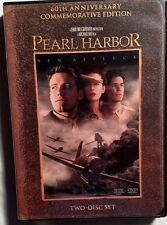 Pearl Harbor (DVD, 2001, 2-Disc Set, Widescreen 60th Anniversary Com. Edition