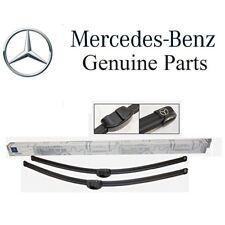 "NEW Mercedes C216 CL W221 S Class Front Windshield Wiper Blade Set 27"" GENUINE"