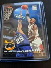 SCOTTIE PIPPEN 1993-94 TOPPS STADIUM CLUB FREQUENT FLYERS #184