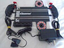 Carrera go Power Track 4 conexiones de vuelta Contador PSU controles # 11