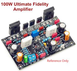 100W Ultimate Fidelity Amplifier PCB DIY MOS Power Amplifier Board Only PCB