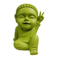 Child Buddha Money Bank Coin Bank Moneybox Piggy Bank - Peace Saying