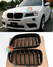 BMW X3 F25 2010-2014 GRIGLIA ANTERIORE NERA MASCHERINA DESIGNI M