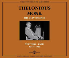 Thelonious Monk : The Quintessence: New York - Paris 1947-1959 CD (2011)