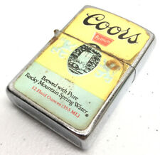 Vintage Coors Premium Fortune Lighter