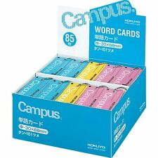 KOKUYO WORD CARD 85 Cards x 30 Campus Notebook Ring Binding 30 x 68mm New Japan