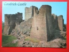POSTCARD HEREFORDSHIRE GOODRICH CASTLE WYE VALLEY