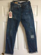 NWT Mens Levi's Vintage Clothing 501 1947 Selvedge Cone Denim 32 x 32 Jeans LVC