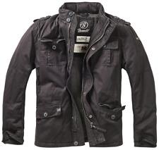 """Brandit Jacke Britannia Winter Jacket black robust, echte """"Bärenjacke"""""""
