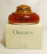 Eau de parfum vintage old formula OBSESSION CALVIN KLEIN 50 ML Splash.