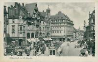 Ansichtskarte Offenbach a.M. Markt Straßenbahn (Nr.9286)