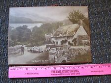 Rotary Photographic Co UK Vintage Photograph Countryside Sheep Cottage Photo