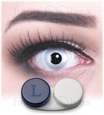 Coloured Contact Lenses Mirror Contacts Color Carnival Halloween + Free Case
