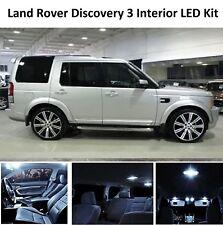 Premium LAND ROVER DISCOVERY 3 Xenon Bianche LED INTERNI LAMPADINA KIT MKIII