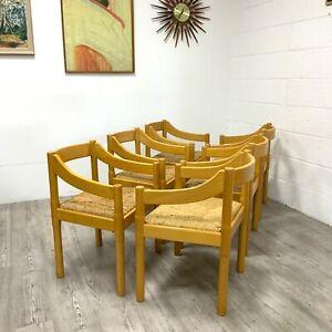 Carimate Dining Chairs, Vico Magistretti for Habitat, Set of 6 Italian  c1960s