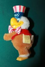 APPLAUSE VINTAGE 1980 LA OLYMPIC COMMITTEE UNCLE SAM EAGLE CLIP ON PLUSH BIRD