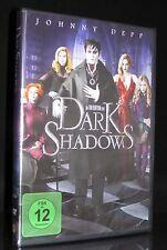DVD DARK SHADOWS - VAMPIR-KOMÖDIE - JOHNNY DEPP + MICHELLE PFEIFFER - TIM BURTON
