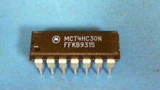 50-pcs of MC74HC30N NAND Gate 1-Element 8-IN CMOS Automotive 14-Pin PDIP