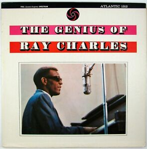 RAY CHARLES The Genius Of Ray Charles LP 1962 R&B/SOUL/JAZZ NM- NM-